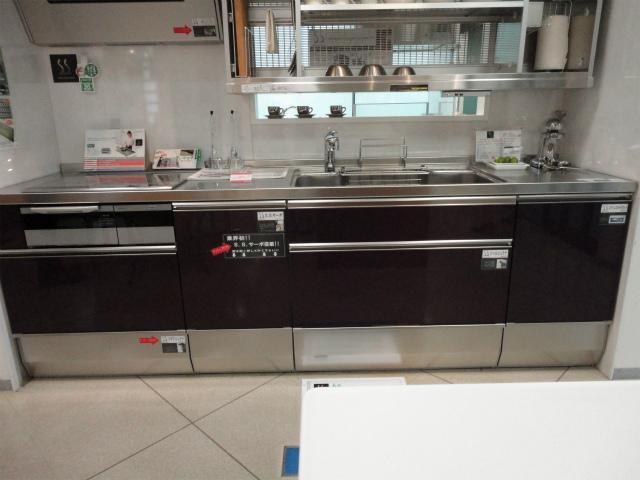 システムキッチン クリナップ SS 4キャビネット構成