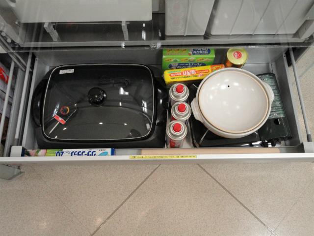 システムキッチン クリナップ 収納例 下段① シンク下