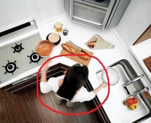 TOTO システムキッチンA型 ホームポジション
