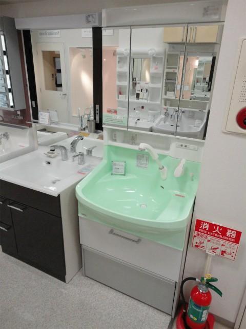 洗面化粧台 クリナップ ファンシオ